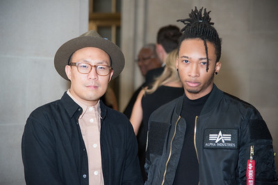 Victor Nguyen, Antonio Dillard, Becky's Fund, Walk This Way, Mellon Auditorium, October 27, 2017, photo by Ben Droz.