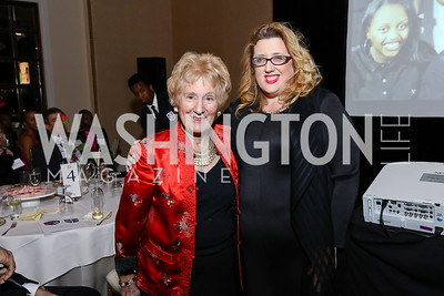 Honoree Diana Davis Spencer, Honoree Abby Moffat. Photo by Tony Powell. Best Friends 30th Anniversary. St. Regis. January 24, 2017