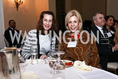 Nancy Stephenson, Susan Hurley Bennett. Photo by Tony Powell. Best Friends 30th Anniversary. St. Regis. January 24, 2017