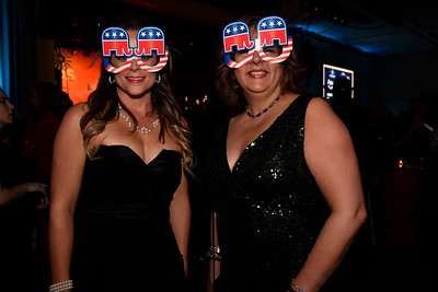 WASHINGTON, DC - JANUARY 19:  Mara Abbey of Leesburg, VA and Angela Bresnahan of Purcellville, VA attend the Texas State Society of Washington, D.C. Black Tie and Boots Presidential Inaugural Ball at the Gaylord National Resort & Convention Center on January 19, 2017 in Washington, DC.  (Photo by Larry French/Washington Life Magazine)