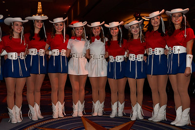 WASHINGTON, DC - JANUARY 19:  The Kilgore College Rangerettes attend the Texas State Society of Washington, D.C. Black Tie and Boots Presidential Inaugural Ball at the Gaylord National Resort & Convention Center on January 19, 2017 in Washington, DC.  (Photo by Larry French/Washington Life Magazine)