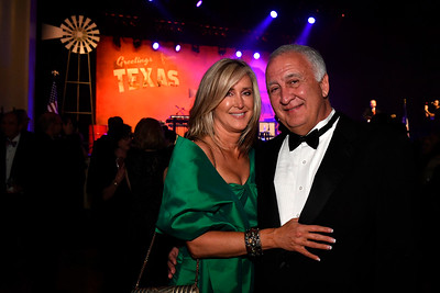 WASHINGTON, DC - JANUARY 19:  Jennifer and Mike Patterson attend the Texas State Society of Washington, D.C. Black Tie and Boots Presidential Inaugural Ball at the Gaylord National Resort & Convention Center on January 19, 2017 in Washington, DC.  (Photo by Larry French/Washington Life Magazine)