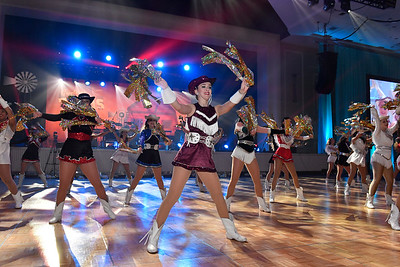 WASHINGTON, DC - JANUARY 19:  The Texas Dance Educators attend the Texas State Society of Washington, D.C. Black Tie and Boots Presidential Inaugural Ball at the Gaylord National Resort & Convention Center on January 19, 2017 in Washington, DC.  (Photo by Larry French/Washington Life Magazine)