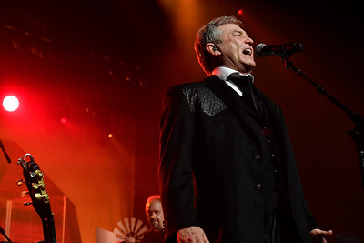 WASHINGTON, DC - JANUARY 19:  Country music legend Larry Gatlin and the Gatlin Brothers perform at the Texas State Society of Washington, D.C. Black Tie and Boots Presidential Inaugural Ball at the Gaylord National Resort & Convention Center on January 19, 2017 in Washington, DC.  (Photo by Larry French/Washington Life Magazine)
