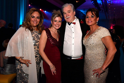 WASHINGTON, DC - JANUARY 19:  Zurella, Lancart of Ft. Worth, TX, Christine Jones of Ft. Worth, TX, Pat Six, Chairman of the Board UMED Holdings of Ft. Worth, TX and Janice Simpson, part owner of the Texas Rangers attend the Texas State Society of Washington, D.C. Black Tie and Boots Presidential Inaugural Ball at the Gaylord National Resort & Convention Center on January 19, 2017 in Washington, DC.  (Photo by Larry French/Washington Life Magazine)