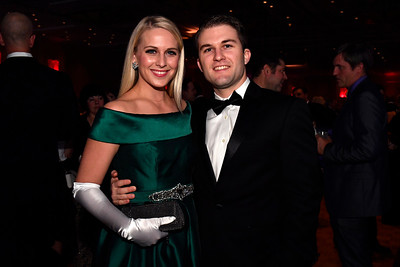 WASHINGTON, DC - JANUARY 19:  Jennifer and Alex Durham of Austin, TX attend the Texas State Society of Washington, D.C. Black Tie and Boots Presidential Inaugural Ball at the Gaylord National Resort & Convention Center on January 19, 2017 in Washington, DC.  (Photo by Larry French/Washington Life Magazine)