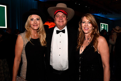 WASHINGTON, DC - JANUARY 19:  (L-R) Deborah Harding, MD, Victor Harding, Jennifer Ferguson attend the Texas State Society of Washington, D.C. Black Tie and Boots Presidential Inaugural Ball at the Gaylord National Resort & Convention Center on January 19, 2017 in Washington, DC.  (Photo by Larry French/Washington Life Magazine)