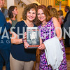 Christina Ritch, Jamie Stieham. Photo by Alfredo Flores. Book Party for Sidney Blumenthal 2017. Home of John and Christina Ritch. May 18, 2017
