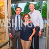 Christina Ritch, Sidney Blumenthal, John Ritch. Photo by Alfredo Flores. Book Party for Sidney Blumenthal 2017. Home of John and Christina Ritch. May 18, 2017