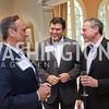 Kuwait Amb. Salem Al-Sabah, Bret Baier, Wayne Reynolds. Photo by Tony Powell. Brunch in honor of Thomas LeBlanc. Arsht Residence. September 10, 2017