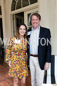Shannon McGahn and Don McGahn. Photo by Tony Powell. Brunch in honor of Thomas LeBlanc. Arsht Residence. September 10, 2017