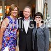 Deborah Rutter, Wayne Reynolds, Marie Mattson. Photo by Tony Powell. Brunch in honor of Thomas LeBlanc. Arsht Residence. September 10, 2017