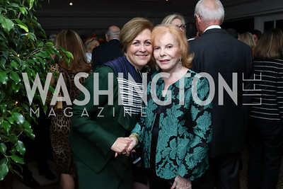Deborah Rutter, Buffy Cafritz. Photo by Tony Powell. Buffy Cafritz Inauguration Party. Hay Adams. October 25, 2017