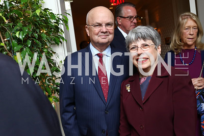 General Michael and Jeanine Hayden. Photo by Tony Powell. Buffy Cafritz Inauguration Party. Hay Adams. October 25, 2017