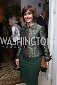 Jordan Amb. Dina Kawar. Photo by Tony Powell. Buffy Cafritz Inauguration Party. Hay Adams. October 25, 2017