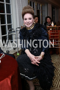 Cindy Adams. Photo by Tony Powell. Buffy Cafritz Inauguration Party. Hay Adams. October 25, 2017