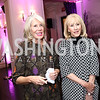 """Winton Holladay, Sandy Langdon. Photo by Tony Powell. """"Sisters First"""" Book Party. Jefferson Hotel. October 26, 2017"""