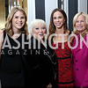 "Jenna Bush Hager, Connie Milstein, Barbara Bush, Susan Blumenthal. Photo by Tony Powell. ""Sisters First"" Book Party. Jefferson Hotel. October 26, 2017"