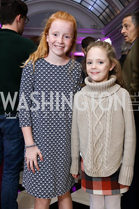 """Sisters Kate and Sarah Loper. Photo by Tony Powell. """"Sisters First"""" Book Party. Jefferson Hotel. October 26, 2017"""