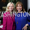 """Susan Blumenthal, Barbara Harrison. Photo by Tony Powell. """"Sisters First"""" Book Party. Jefferson Hotel. October 26, 2017"""