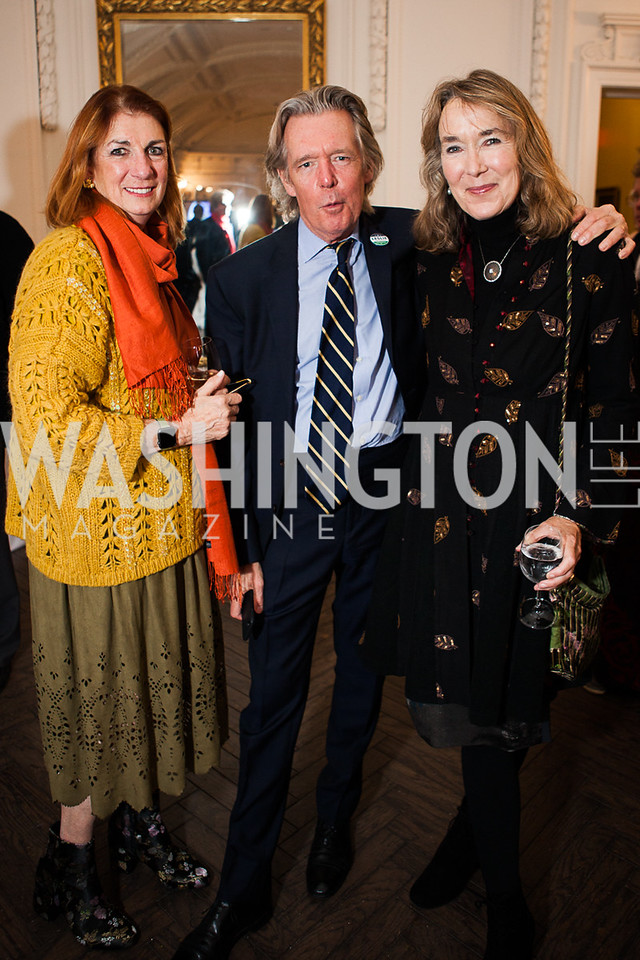 Mathilda Cox, John Warner, Leslie Cockburn