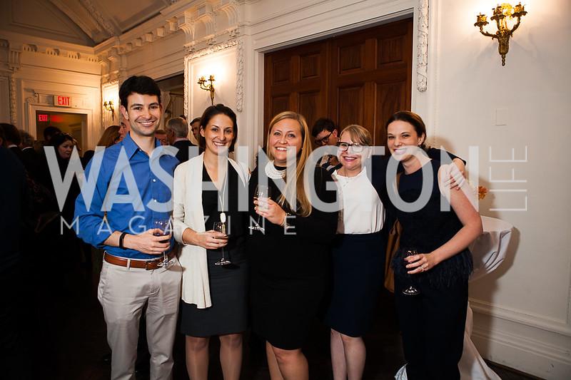 David Victorson, Alex Carozza, Britanie Hall, Kaitlin Welborn, Margaus Hall