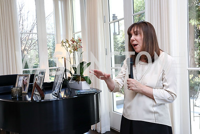 "Amy Ephron. Photo by Tony Powell. Amy Ephron ""Castle in the Mist"" Book Party. Sonneborn Residence. March 5, 2017"