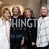 """Amy Tercek, Winton Holladay, Nancy Taylor Bubes, Genevieve Ryan. Photo by Tony Powell. Amy Ephron """"Castle in the Mist"""" Book Party. Sonneborn Residence. March 5, 2017"""