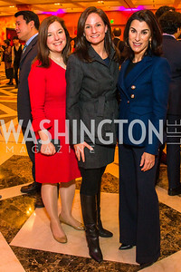 Christina Gungall Lepore, Heather Florance, Tracy Bernstein. Photo by Alfredo Flores. Chinese Lunar New Year Celebration. Embassy of the People's Republic of China. February 2, 2017