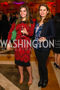 Keri Berman, Taylor Holgate. Photo by Alfredo Flores. Chinese Lunar New Year Celebration. Embassy of the People's Republic of China. February 2, 2017