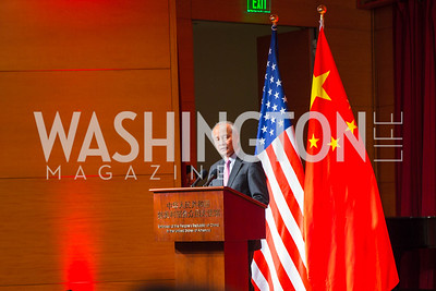 Chinese Ambassador to the United States Cui Tiankai. Photo by Alfredo Flores. Chinese Lunar New Year Celebration. Embassy of the People's Republic of China. February 2, 2017