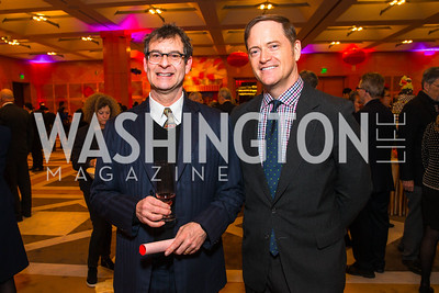 Kyle Poole, John Hanshaw. Photo by Alfredo Flores. Chinese Lunar New Year Celebration. Embassy of the People's Republic of China. February 2, 2017
