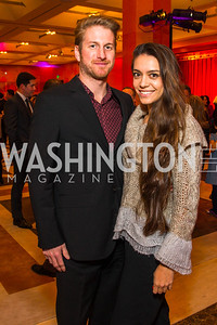 Matthew Pauls, Arielle Zina. Photo by Alfredo Flores. Chinese Lunar New Year Celebration. Embassy of the People's Republic of China. February 2, 2017