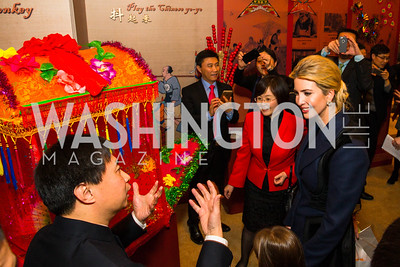 Ivanka Trump. Photo by Alfredo Flores. Chinese Lunar New Year Celebration. Embassy of the People's Republic of China. February 2, 2017