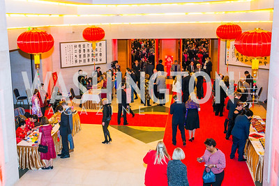 Photo by Alfredo Flores. Chinese Lunar New Year Celebration. Embassy of the People's Republic of China. February 2, 2017