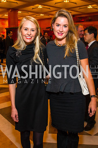 Lauren Gilbertson, Sasha Simpson. Photo by Alfredo Flores. Chinese Lunar New Year Celebration. Embassy of the People's Republic of China. February 2, 2017