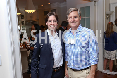 Top Coldwell Banker Broker David Hertzberg, Gary Jankowski. Photo by Tony Powell. Coldwell Banker Top Broker Reception. 1607 28th St NW. June 22, 2017