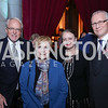 Amb. John Beyrle, Jocelyn Greene, Inguna Penike and Latvian Amb. Andris Teikmanis. Photo by Tony Powell. 2017 Concert for Unity. National Cathedral. November 13, 2017