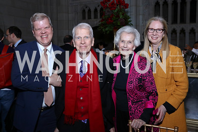 Tom Billington, James Billington, Marjorie Billington, Susan Harper. Photo by Tony Powell. 2017 Concert for Unity. National Cathedral. November 13, 2017
