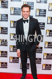 Erich Bergen. Photo by Alfredo Flores. Creative Coalition Inaugural Ball. Harman Center for the Arts. January 20, 2017