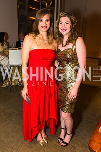 Morgan Heczko, Sarah Stallings. Photo by Alfredo Flores. Creative Coalition Inaugural Ball. Harman Center for the Arts. January 20, 2017