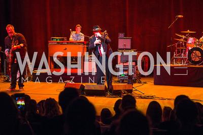Blues Traveler. Photo by Alfredo Flores. Creative Coalition Inaugural Ball. Harman Center for the Arts. January 20, 2017