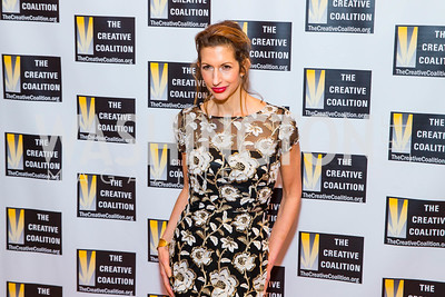Alysia Reiner. Photo by Alfredo Flores. Creative Coalition Inaugural Ball. Harman Center for the Arts. January 20, 2017