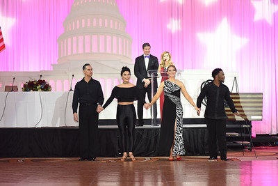 Javier Buentello, karina Vidal, Bonnie Mulroy & Shawn Bantum. November 11, 2017. DC's Dancing Stars Gala. Amanda Warden.