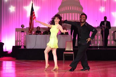 Barbara Hamilton & Shawn Bantum. November 11, 2017. DC's Dancing Stars Gala. Amanda Warden.