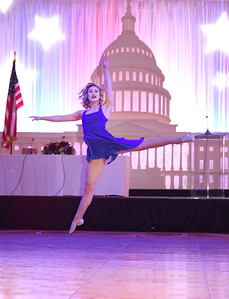 Redskins Cheerleader Ashley M. November 11, 2017. DC's Dancing Stars Gala. Amanda Warden.