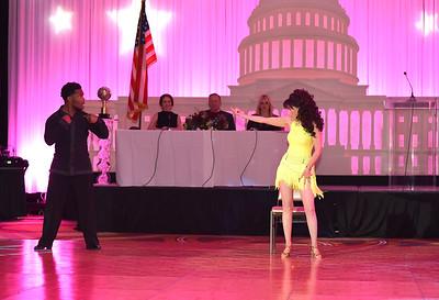 Shawn Bantum & Barbara Hamilton. November 11, 2017. DC's Dancing Stars Gala. Amanda Warden.