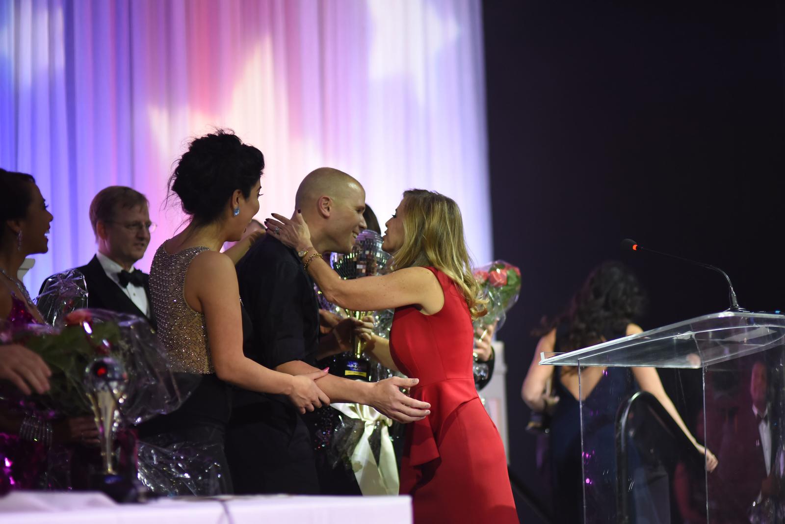 Karina Vidal, Paul Ashe & Maria Coakley David. November 11, 2017. DC's Dancing Stars Gala. Amanda Warden.