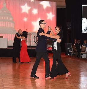 Bill Hires & Silvia Beltran. November 11, 2017. DC's Dancing Stars Gala. Amanda Warden.