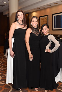 Cassandra Glenn, April Hamblin & Christina Allen. November 11, 2017. DC's Dancing Stars Gala. Amanda Warden.
